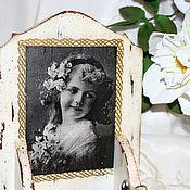 """Канцелярские товары ручной работы. Ярмарка Мастеров - ручная работа """"Старинная фотография"""" Вечный календарь. Handmade."""