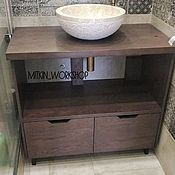 Для дома и интерьера handmade. Livemaster - original item Cupboard in bathroom. Handmade.
