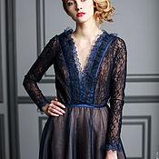 """Одежда ручной работы. Ярмарка Мастеров - ручная работа """"Ноелла"""" вечернее платье. Handmade."""