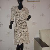 Одежда handmade. Livemaster - original item Knit dress Pearl 2. Handmade.