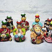 """Куклы и игрушки ручной работы. Ярмарка Мастеров - ручная работа куклы сувенирные """"Буряты и семейские"""". Handmade."""