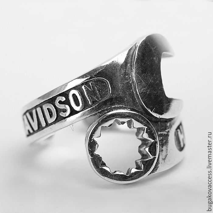 Ring Harley Davidson of silver 925, Rings, Moscow,  Фото №1