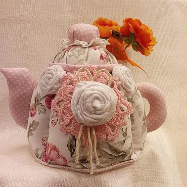 """Для дома и интерьера ручной работы. Ярмарка Мастеров - ручная работа Чайник-шкатулка"""" Розовые сны"""". Handmade."""