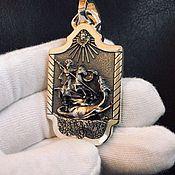 "Украшения handmade. Livemaster - original item Pendant ""George the Victorious"" from silver of 925. Handmade."