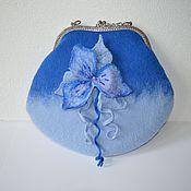 Сумки и аксессуары handmade. Livemaster - original item Bag with clasp: Natalie. Handmade.