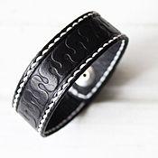 Мужской кожаный браслет из кожи браслет мужской кожаный