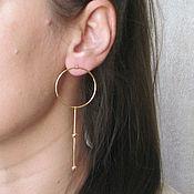 handmade. Livemaster - original item Earrings sticks
