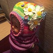 """Работы для детей, ручной работы. Ярмарка Мастеров - ручная работа Шлем """"Радуга с ромашками"""". Handmade."""