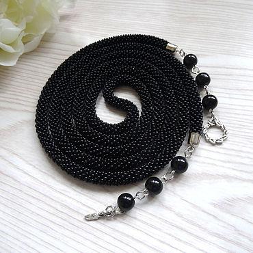 Decorations handmade. Livemaster - original item Lariat: Lariat harness of beads