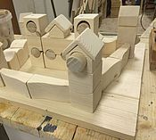 Куклы и игрушки ручной работы. Ярмарка Мастеров - ручная работа Деревянные кубики ручной работы. Handmade.