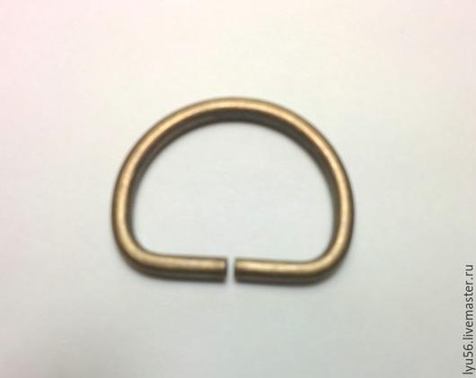 Другие виды рукоделия ручной работы. Ярмарка Мастеров - ручная работа. Купить Полукольцо 25 мм (3 мм). Handmade.