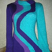 """Одежда ручной работы. Ярмарка Мастеров - ручная работа Туника """" три цвета"""". Handmade."""
