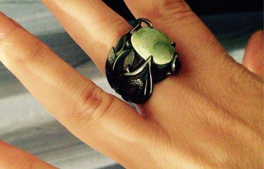 Кольца ручной работы. Ярмарка Мастеров - ручная работа. Купить Кольцо из серебра. Handmade. Серебро, камень