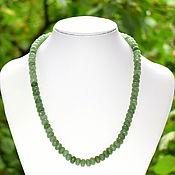Украшения handmade. Livemaster - original item Beads from natural green aventurine Zimbabwe. Handmade.