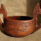 Посуда handmade. Livemaster - original item Bratina ceramic. Handmade.