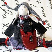Куклы и игрушки ручной работы. Ярмарка Мастеров - ручная работа текстильная зайчиха Ким. Handmade.