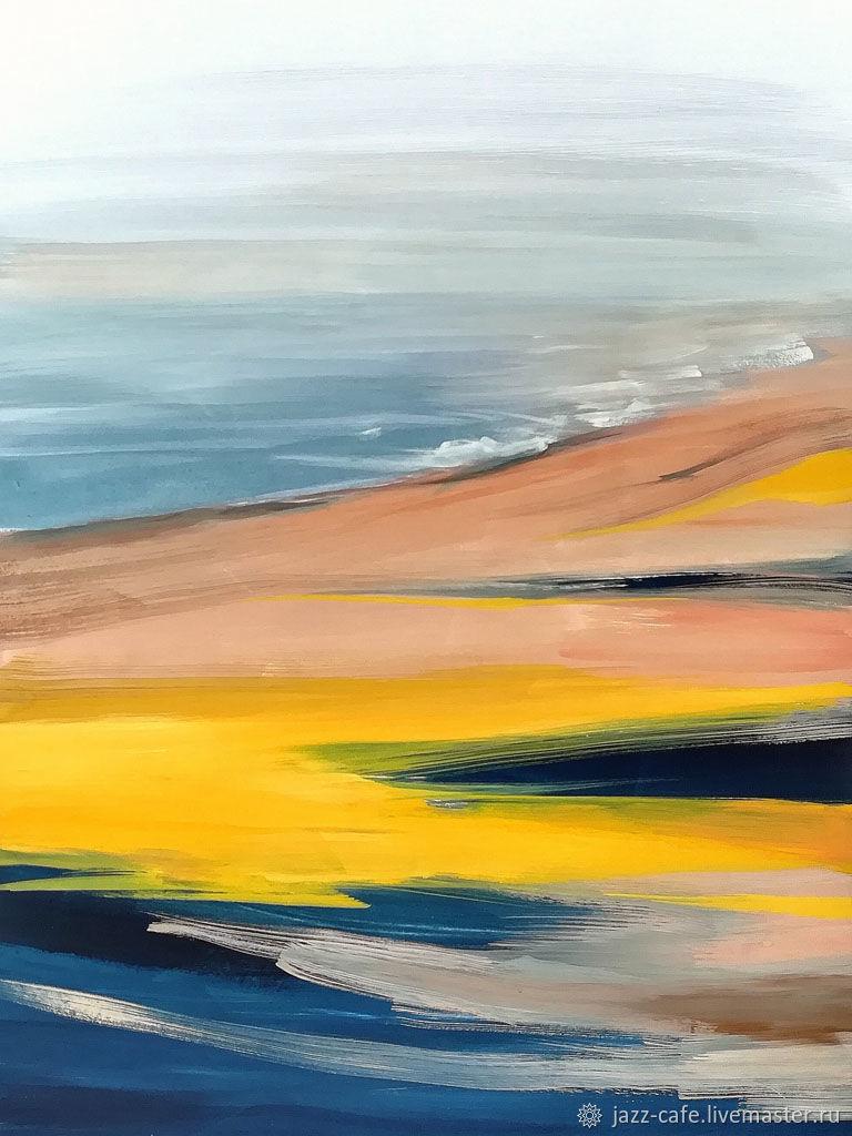 Canyon 3. Интерьерная картина, абстрактный пейзаж, Картины, Северск,  Фото №1