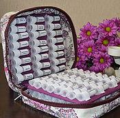 Шкатулки ручной работы. Ярмарка Мастеров - ручная работа Пенал для гомеопатической аптечки на 96 препаратов. Handmade.