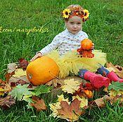 Работы для детей, ручной работы. Ярмарка Мастеров - ручная работа Ободки с листьями осень. Handmade.