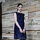 Платья ручной работы. Заказать Валяное платье «Синяя птица». Irina Demchenko. Ярмарка Мастеров. Короткое платье, ирина демченко