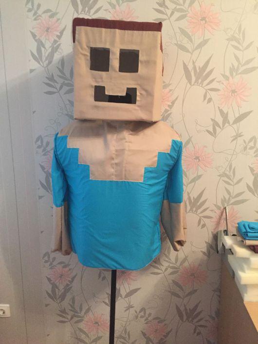 Карнавальные костюмы ручной работы. Ярмарка Мастеров - ручная работа. Купить Костюм Майнкрафт (Minecraft). Handmade. Майнкрафт, костюм для аниматора