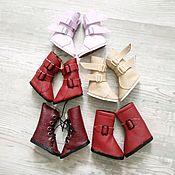 Одежда для кукол ручной работы. Ярмарка Мастеров - ручная работа Обувь для кукол Паола Рейна и текстильных кукол. Handmade.