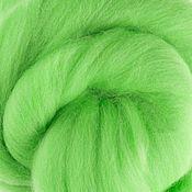 Материалы для творчества handmade. Livemaster - original item The Australian Merino.19 MD. Mint. Italy.Wool for felting.. Handmade.