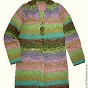 Одежда ручной работы. Ярмарка Мастеров - ручная работа Кардиган из Noro. Handmade.