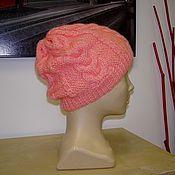 Аксессуары ручной работы. Ярмарка Мастеров - ручная работа женская шапка ручной вязки. Handmade.