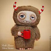 Куклы и игрушки ручной работы. Ярмарка Мастеров - ручная работа Монстрик (по картинке). Handmade.