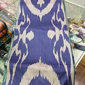 Материалы для творчества handmade. Livemaster - original item Uzbek cotton ikat hand weaving. FM134. Handmade.