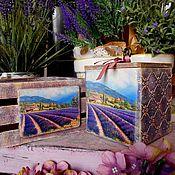 Для дома и интерьера ручной работы. Ярмарка Мастеров - ручная работа Набор «Provence» - декупаж прованс кантри. Handmade.