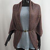 Одежда handmade. Livemaster - original item Cape-Bolero jacket from kid-mohair. Handmade.
