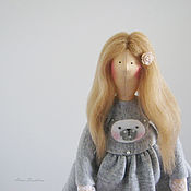 Куклы и игрушки ручной работы. Ярмарка Мастеров - ручная работа Тильда Малышка Люси. Handmade.