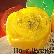 Косметика ручной работы. Ярмарка Мастеров - ручная работа «Желтая роза». Handmade.