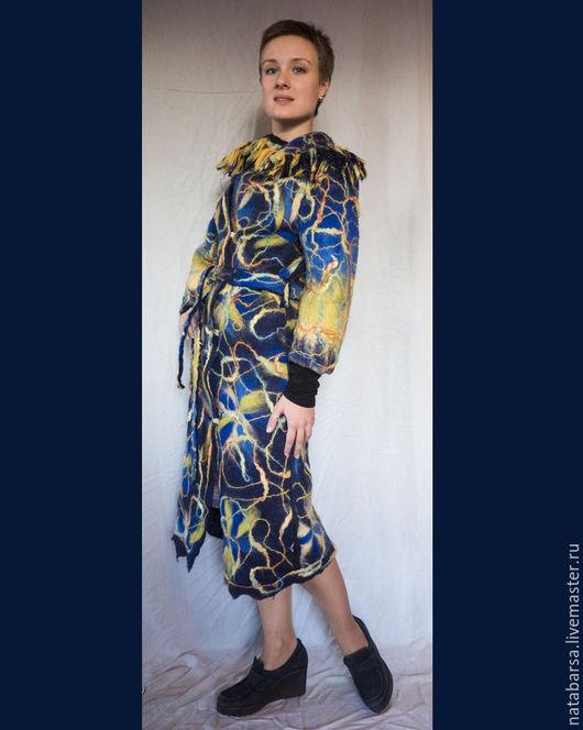 """Верхняя одежда ручной работы. Ярмарка Мастеров - ручная работа. Купить Пальто """"в ожидании весны"""". Handmade. Шерсть 100%"""