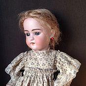 Одежда для кукол ручной работы. Ярмарка Мастеров - ручная работа Платье для антикварной куклы ростом 55 см. Handmade.