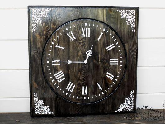"""Часы для дома ручной работы. Ярмарка Мастеров - ручная работа. Купить Часы настенные """"Эбеновое дерево"""". Handmade. Часы настенные"""