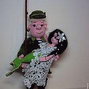 Схемы для вязания ручной работы. Ярмарка Мастеров - ручная работа Схемы для вязания: Удачная рыбалка. Handmade.