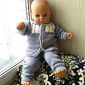 Работы для детей, handmade. Livemaster - original item Knitted suit: blouse, panties for boy. Handmade.