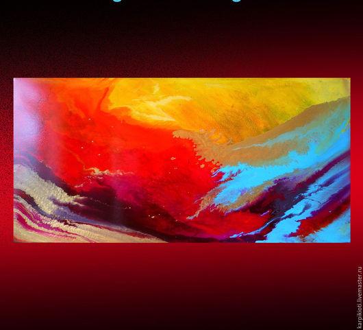 Абстракция ручной работы. Ярмарка Мастеров - ручная работа. Купить Картина, Абстрактная живопись, современное искусство. Handmade. Оригинальный подарок