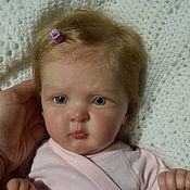 Куклы Reborn ручной работы. Ярмарка Мастеров - ручная работа Кукла реборн Оксаночка. Handmade.