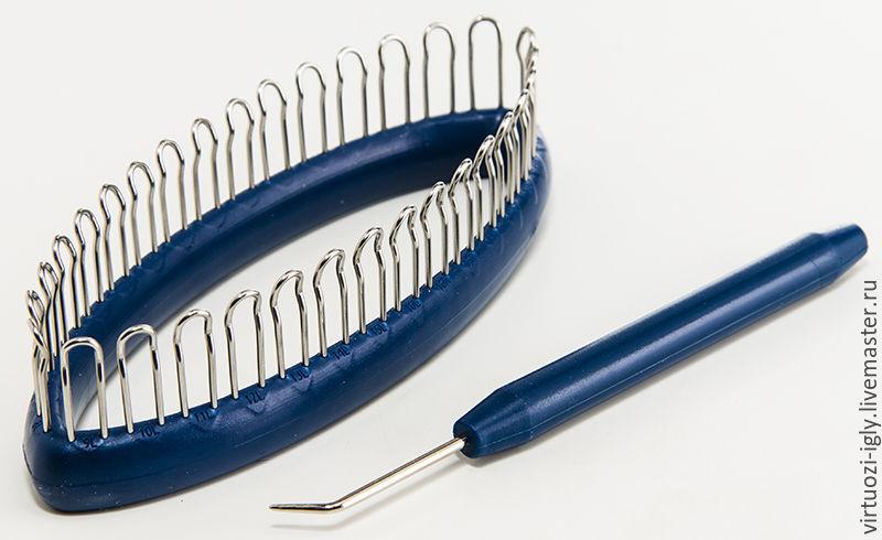 приспособление для вязания носков и митенок 32 петли купить в