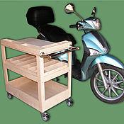 Для дома и интерьера ручной работы. Ярмарка Мастеров - ручная работа Тележка инструментальная на колёсах (750х500х800). Handmade.