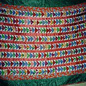 """Для дома и интерьера ручной работы. Ярмарка Мастеров - ручная работа Лоскутное одеяло """"ЛЕТЯТ ГУСИ"""". Handmade."""