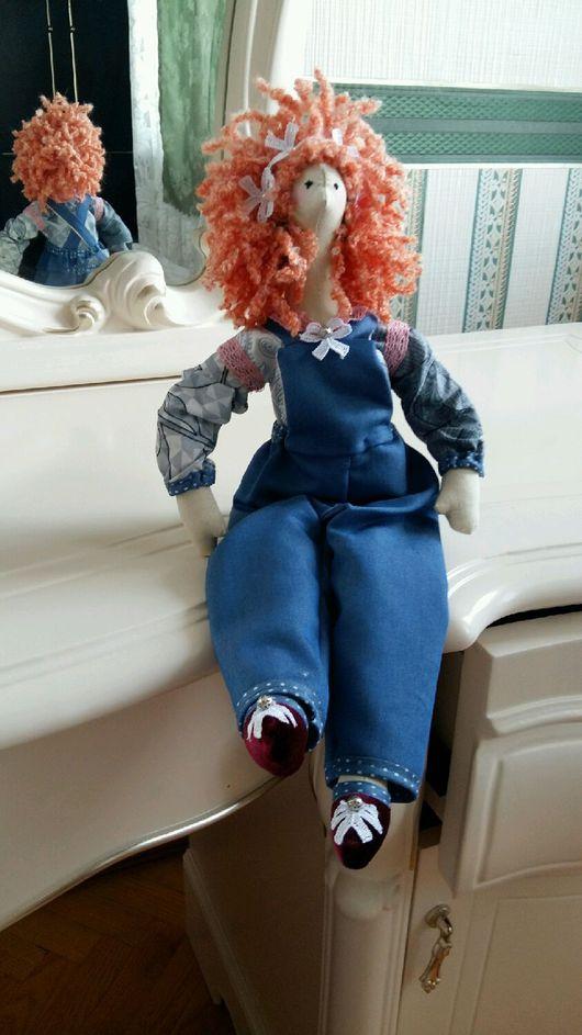 Куклы Тильды ручной работы. Ярмарка Мастеров - ручная работа. Купить Кукла Забавушка. Handmade. Подарок на любой случай