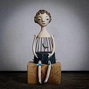 """Для дома и интерьера ручной работы. Ярмарка Мастеров - ручная работа Кукла """"Моё сердце - маленькая птичка"""". Handmade."""