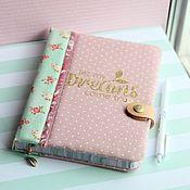 Канцелярские товары handmade. Livemaster - original item Diary Tenderness. Handmade.