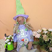 Куклы и игрушки ручной работы. Ярмарка Мастеров - ручная работа Тильда птичница. Handmade.