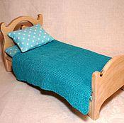 Куклы и игрушки ручной работы. Ярмарка Мастеров - ручная работа Кровать для куклы (4). Handmade.